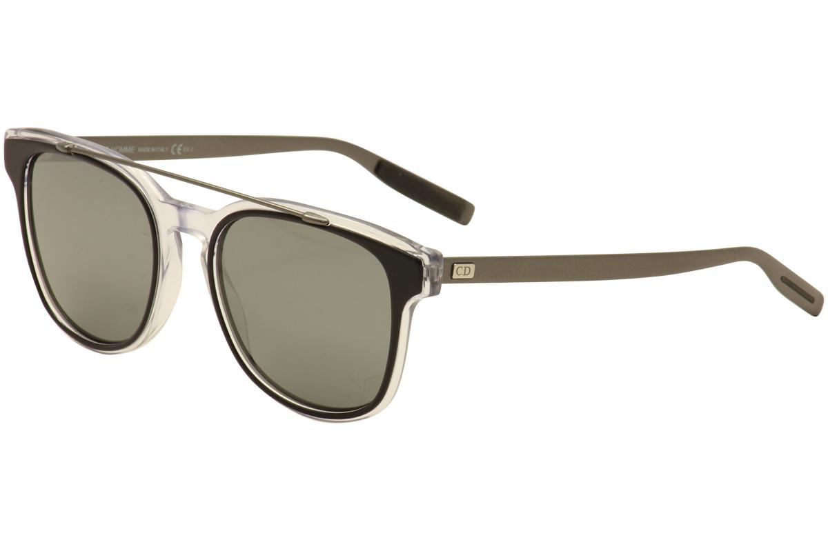 Image of Christian Dior Women's Black Tie 211/S Fashion Sunglasses - Black - Lens 52 Bridge 19 Temple 150mm