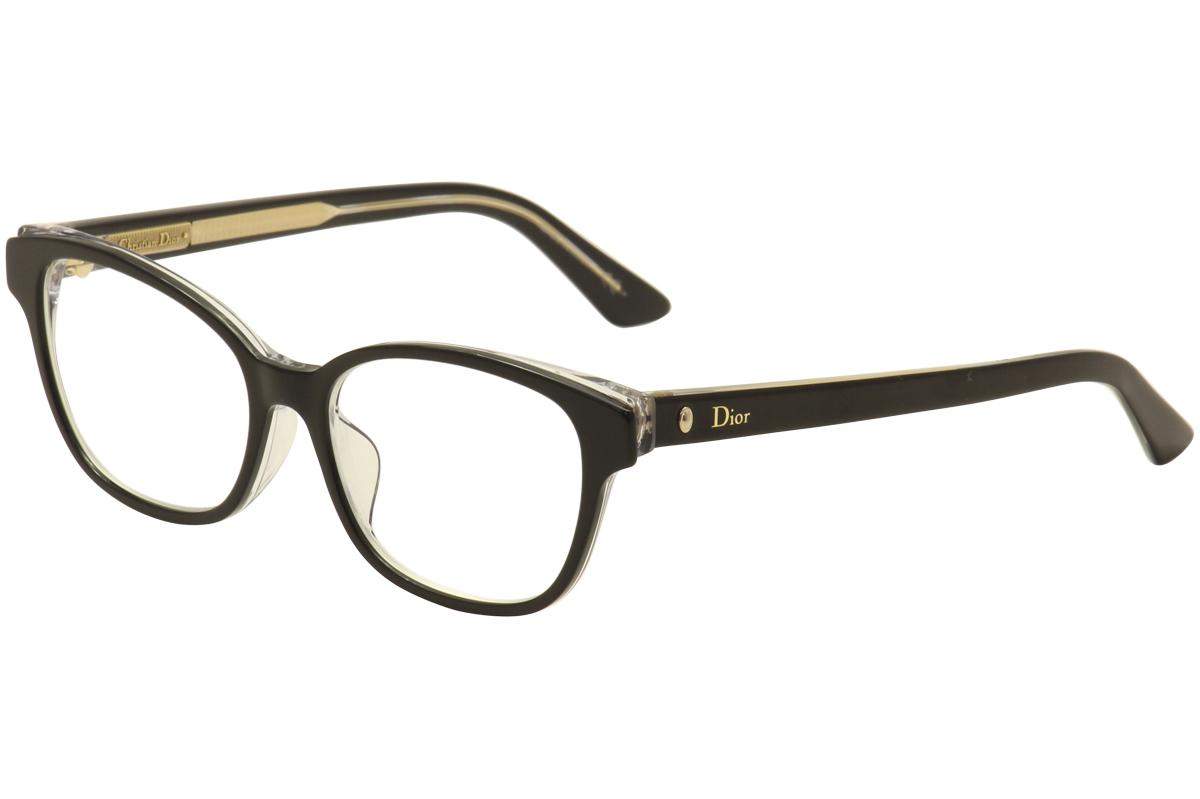 Image of Christian Dior Eyeglasses Montaigne No.03F Full Rim Optical Frame (Asian Fit) - none - Lens 52 Bridge 16 Temple 140mm