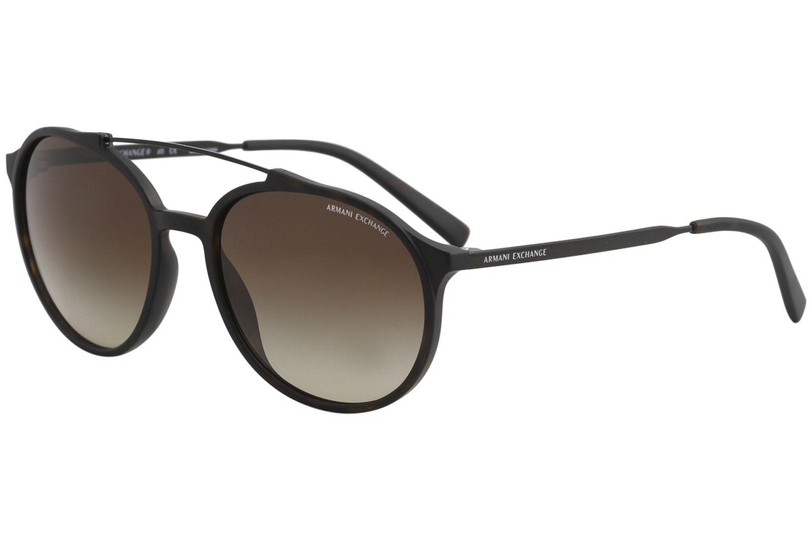 258e4a2ab Armani Exchange Men's AX4069S AX/4069/S Fashion Pilot Sunglasses