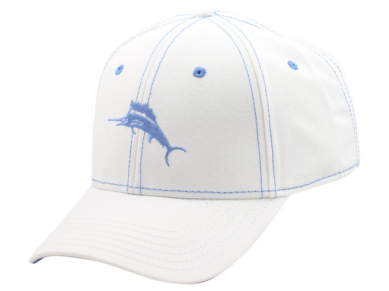 Image of Tommy Bahama Men's Strapback Baseball Cap Hat - White - One Size Fits Most