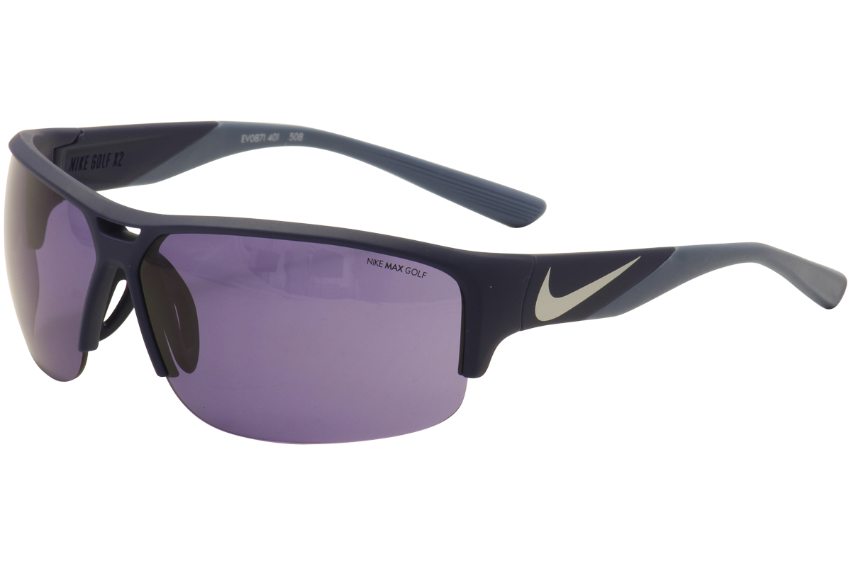25ea2397b5bbf Nike Men's Golf X2 Sport Sunglasses