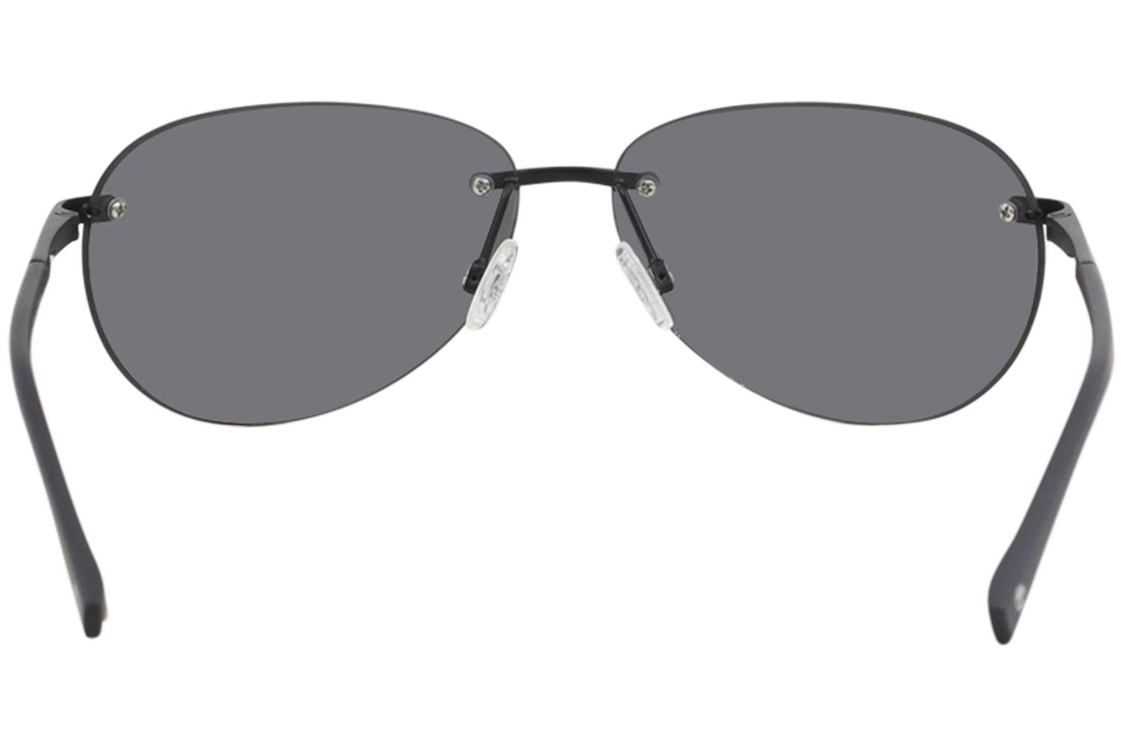 a53146e668 Timberland Men s TB9117 TB 9117 Fashion Rectangle Polarized Sunglasses by  Timberland. Hover to zoom