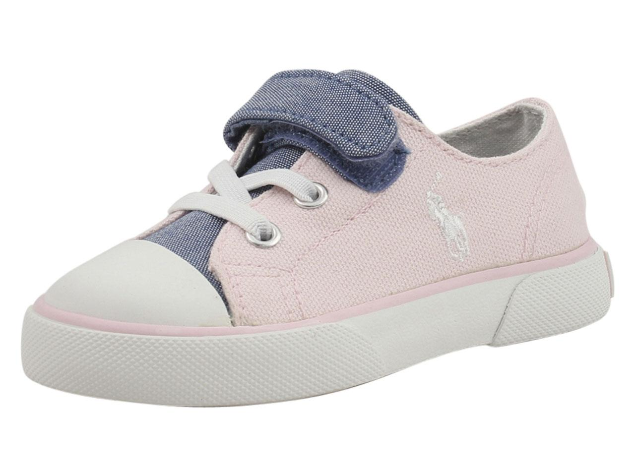 beb36a211 Polo Ralph Lauren Toddler Girl s Koni Sneakers Shoes