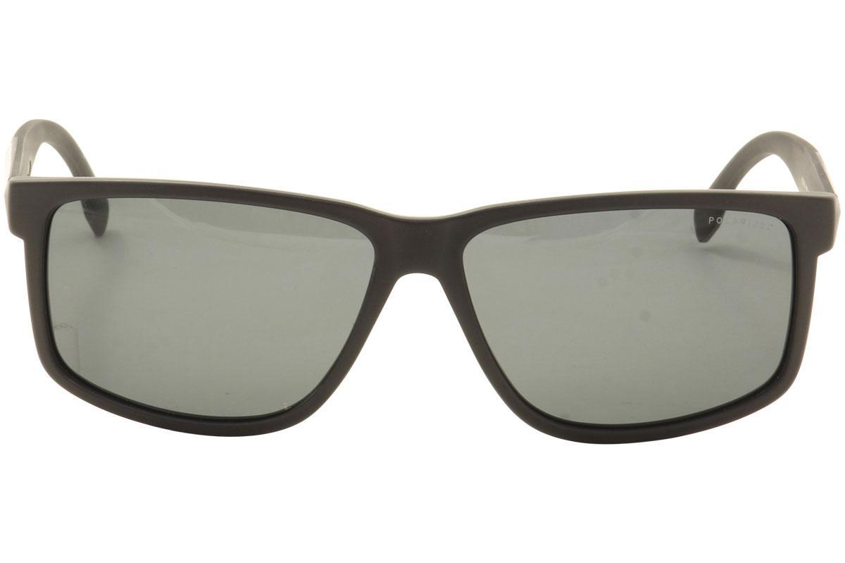13815fe7bb5f Hugo Boss Men's 0833S 0833/S Rectangle Sunglasses