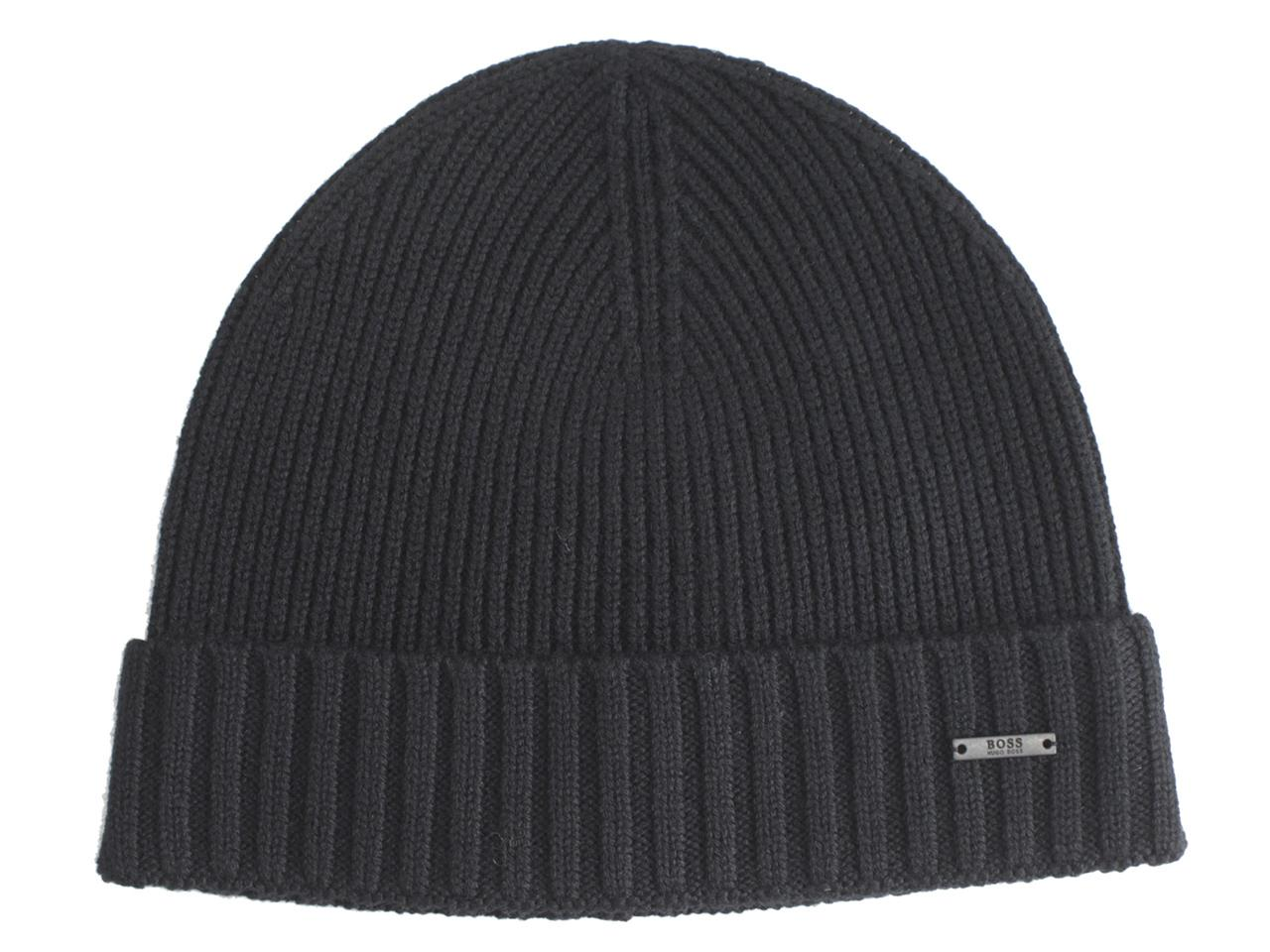 c38c46f4 Details about Hugo Boss Men's Fati Wool Beanie Hat (One Size Fits Most)