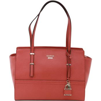 Guess Women's Devyn Pebbled Satchel Handbag UPC: