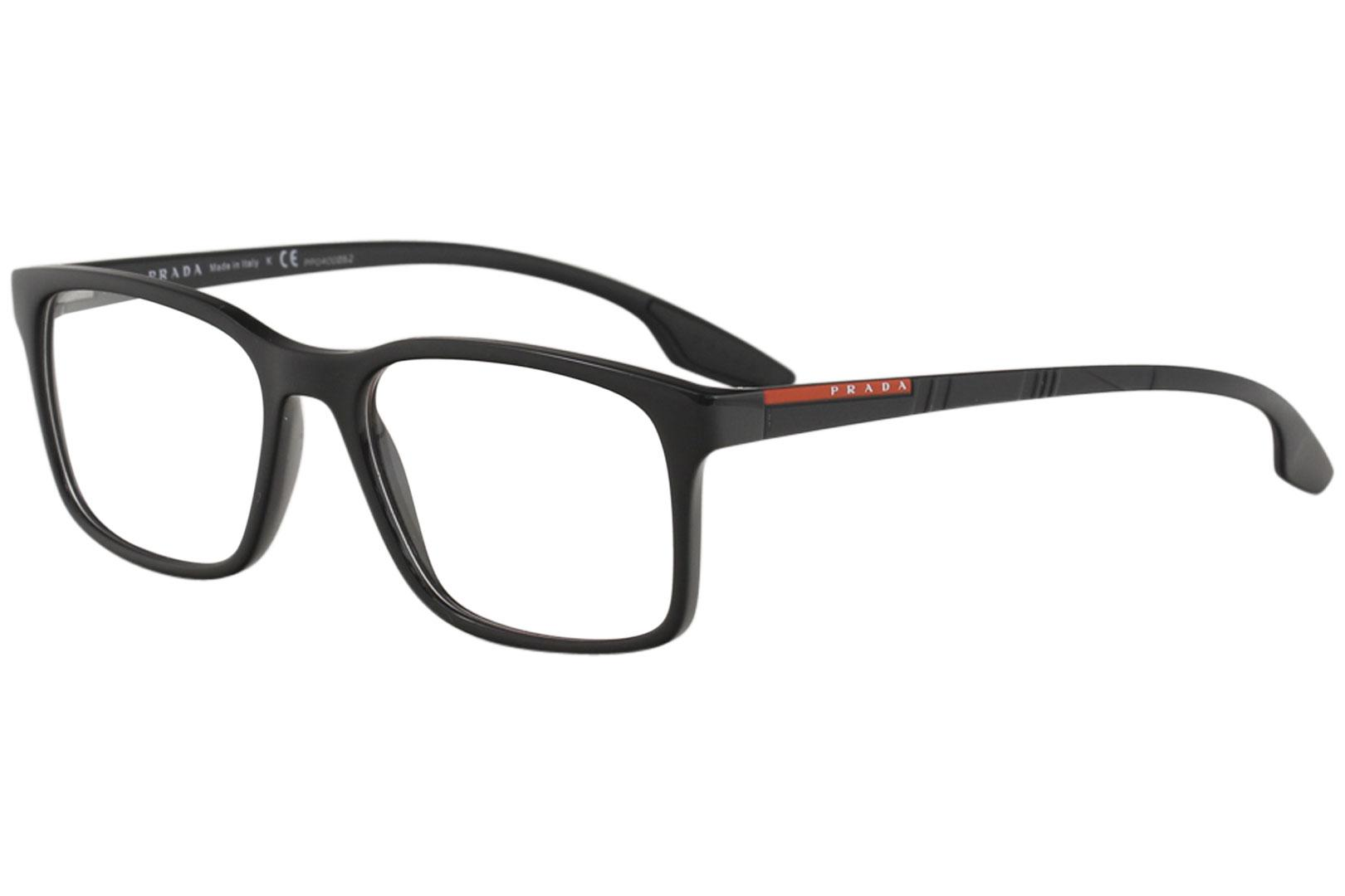 e17d3e10c83 ... Men s Eyeglasses VPS01L VPS 01L Full Rim Optical Frame by Prada Linea  Rossa. Touch to zoom