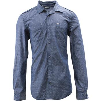 Buffalo By David Bitton Men's Saeed Cotton Long Sleeve Button Front Shirt