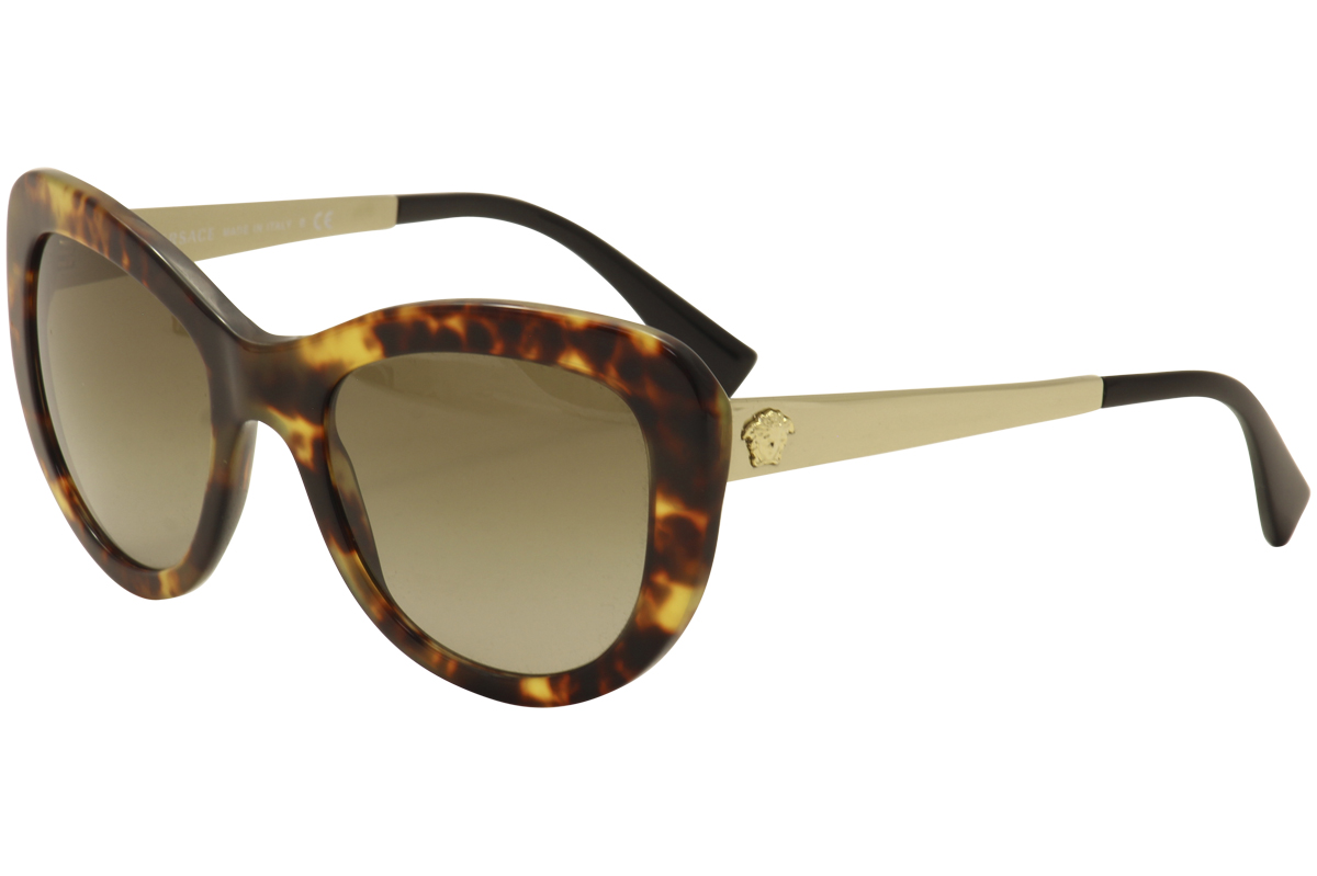 02d92ba2e13 Versace Women s VE4325 4325 Fashion Cat Eye Sunglasses