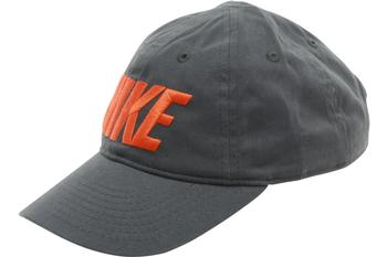Nike Boy's Embroidered Logo Cotton Baseball Cap Snap Back Hat