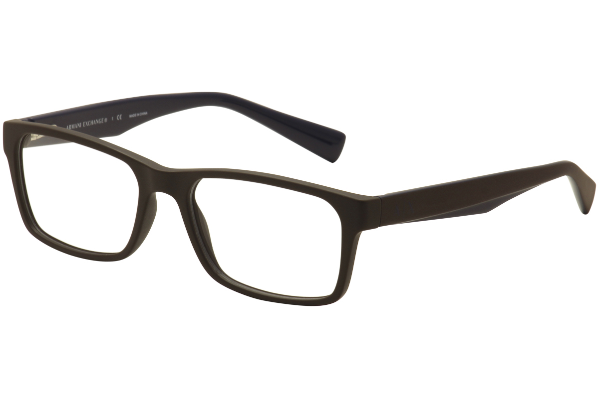 Armani Exchange Men S Eyeglasses Ax3038 Ax 3038 Full Rim Optical Frame