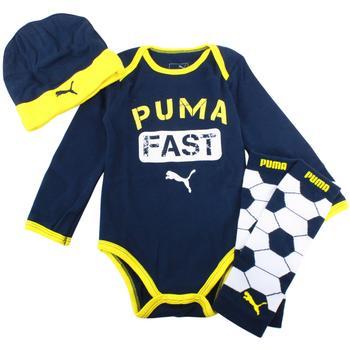 1ddf5283b9df Puma Infant Boy s Leg Warmer 3-Piece Long Sleeve Newborn Box Set