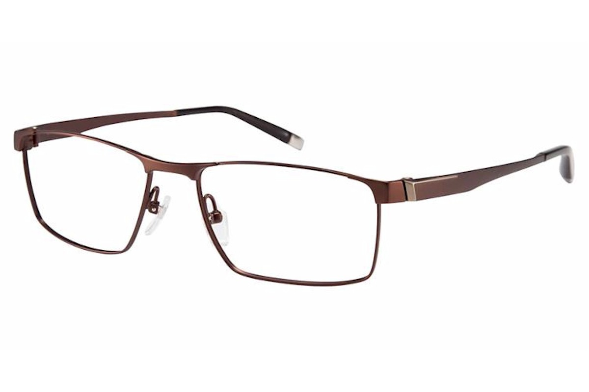 Charmant Z Men S Eyeglasses Ti19833r Ti 19833r Titanium Full Rim Optical Frame