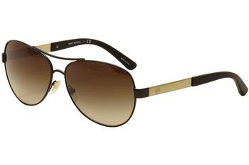 Tory Burch Women's TY6047 TY/6047 Fashion Aviator Sunglasses UPC: