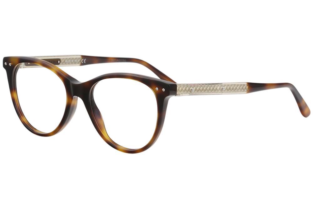 56c8d6e5bcc Bottega Veneta Women s Eyeglasses BV0129O BV 0129 O Full Rim Optical Frame  by Bottega Veneta