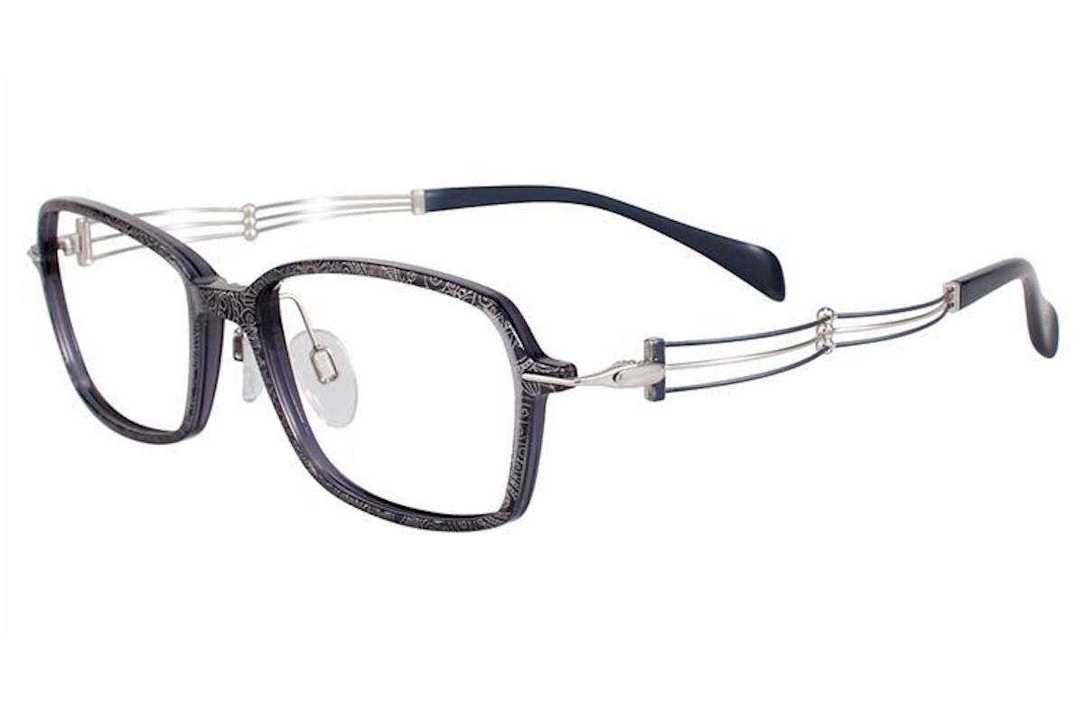 Charmant Line Art Eyeglasses Xl2074 Xl 2074 Titanium Full Rim Optical Frame