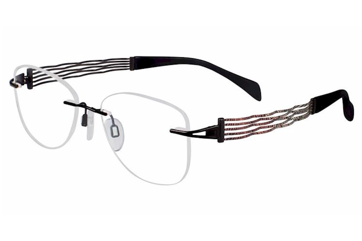 Charmant Line Art Women S Eyeglasses Xl2081 Xl 2081 Rimless Optical Frame