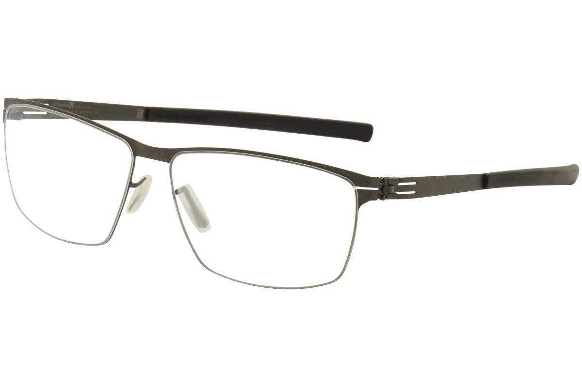 IC! Berlin Men\'s Eyeglasses Sven H. Full Rim Optical Frame