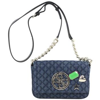 30efb10c2c8 Guess Women s G Lux Mini Quilted Flap-Over Crossbody Handbag