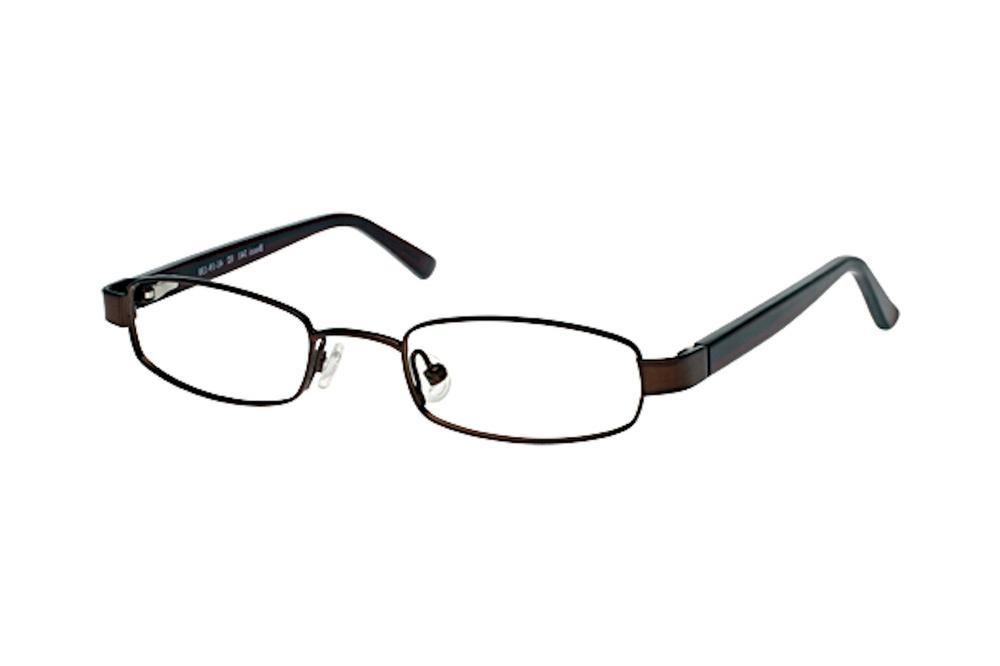 Image of Bocci Boy's Eyeglasses 341 Full Rim Optical Frame - Brown   02 - Lens 41 Bridge 19 Temple 130mm