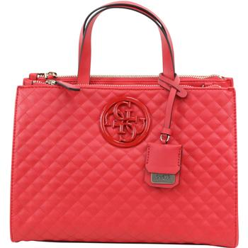 Guess Women's G Lux Quilted Status Satchel Handbag