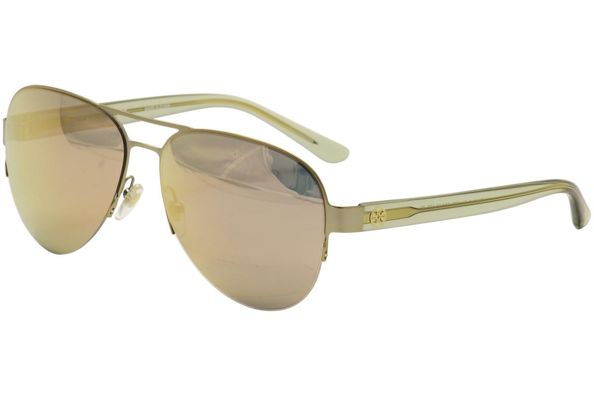 86c134b13e Tory Burch Women s TY6048 TY 6048 Fashion Pilot Sunglasses