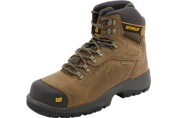 Caterpillar Men's Diagnostic Hi Waterproof Work Boots Shoes  UPC: