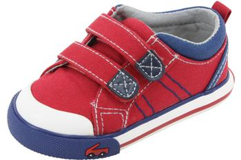 See Kai Run Toddler Boy's Hess II Fashion Canvas/Leather Sneakers Shoes  UPC: