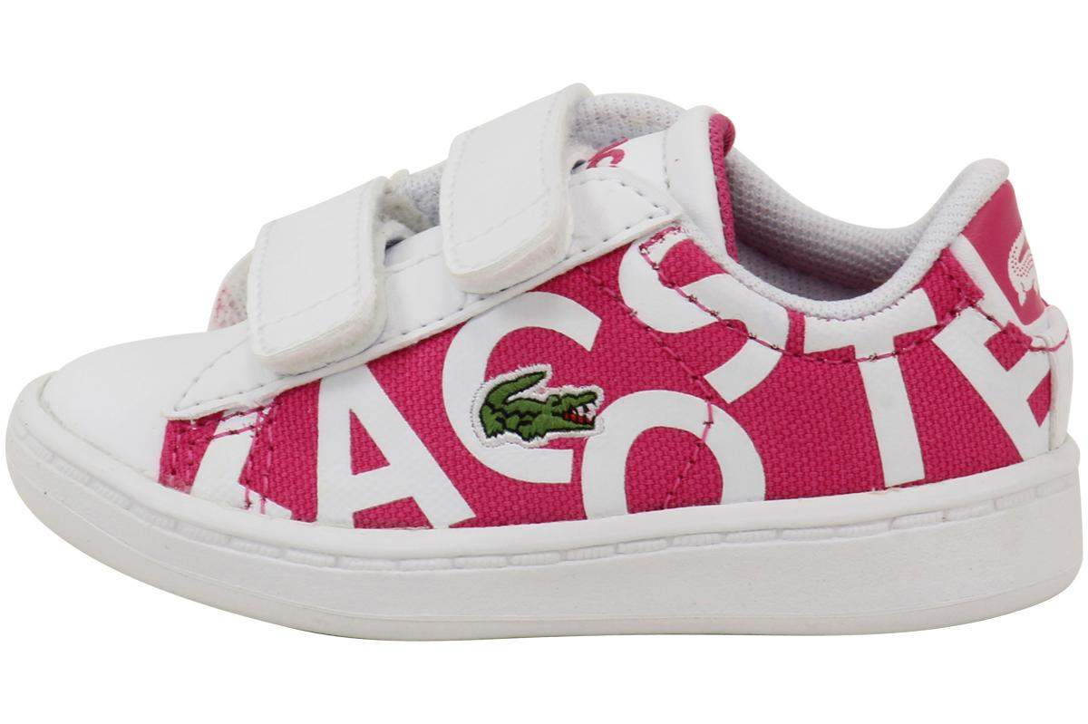 e4df121321f2 Lacoste Toddler Girl s Carnaby EVO 117 1 Sneakers Shoes
