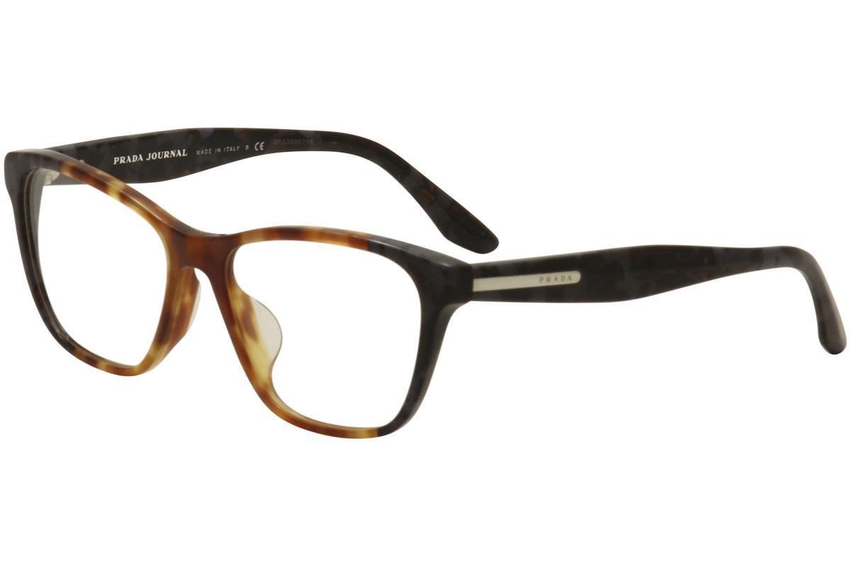 Prada Women\'s Eyeglasses VPR04T VPR/04/T Full Rim Optical Frame