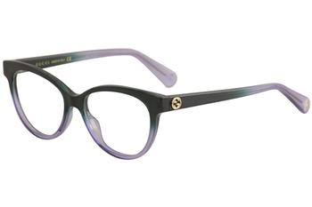 cf7953fa8d2 Gucci Men s Sensual Romantic Eyeglasses GG0294O GG 02940 Full Rim ...