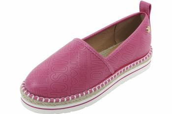 Love Moschino Women's Logo Print Espadrilles Loafers Shoes