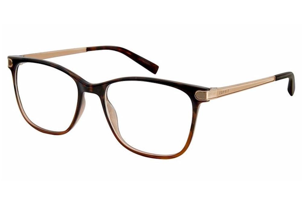 Image of Esprit Women's Eyeglasses ET17548 ET/17548 Full Rim Optical Frame - Havana   545 - Lens 51 Bridge 16 Temple 135mm