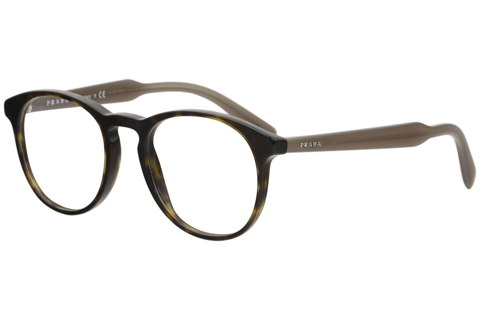 01fd95e7288 Prada Men s Eyeglasses VPR19S VPR 19S Full Rim Optical Frame