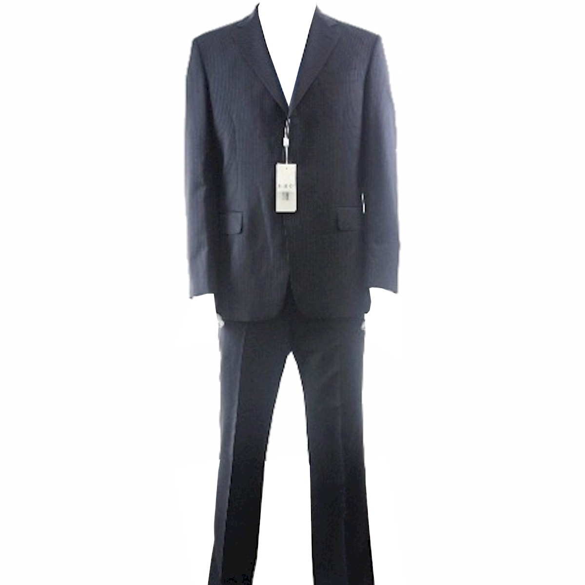 Image of Gianfranco Ferrre Suit Men's 3 buttons Black Wool 2 Back Vent - Black - US 40 EU 50