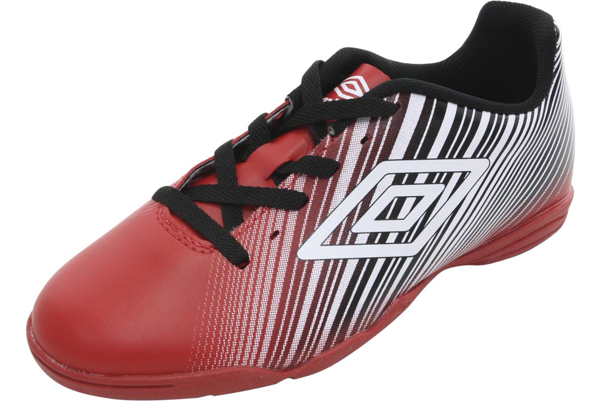 Image of Umbro Men's Slice II Indoor Soccer Sneakers Shoes - Red - 10 D(M) US
