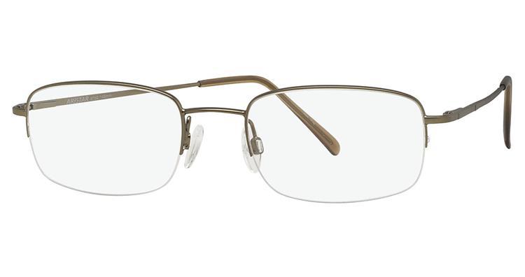 Aristar By Charmant Men S Eyeglasses Ar6752 Ar 6752 Half Rim Optical Frame
