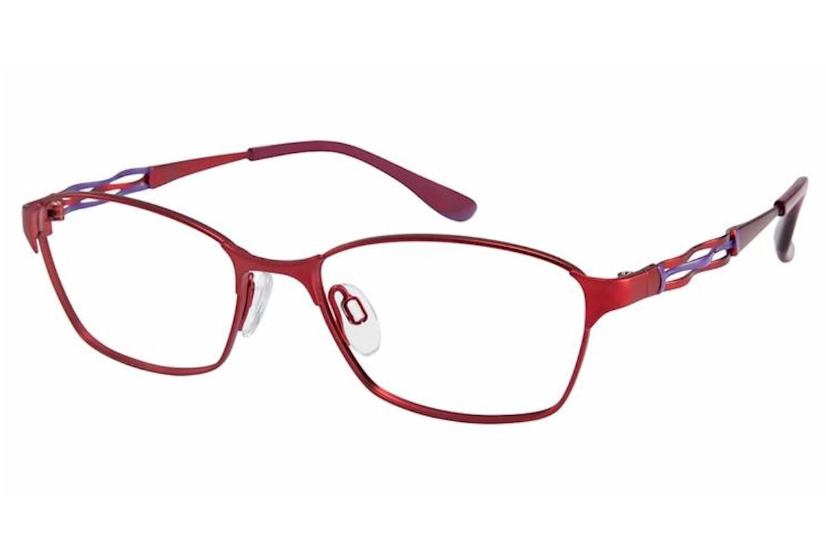Charmant Perfect Comfort Eyeglasses Ti 10605 Titanium Full Rim Optical Frame