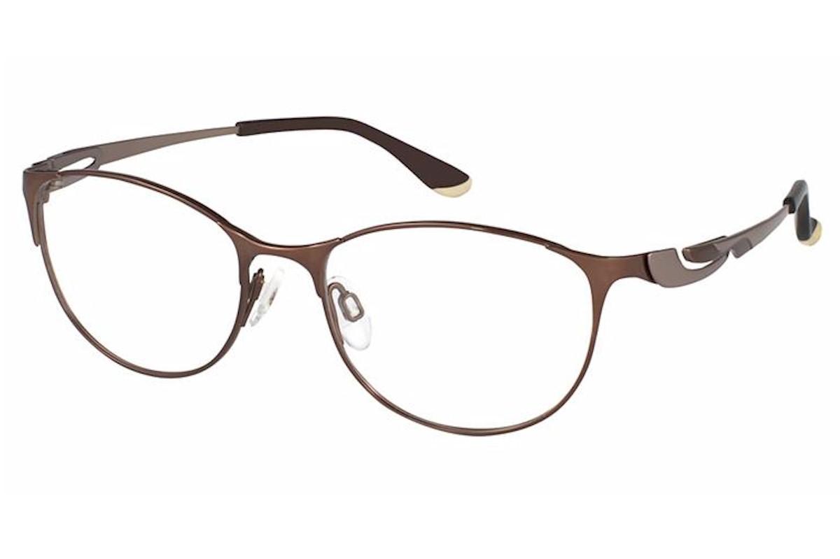 Charmant Perfect Comfort Eyeglasses Ti 10607 Titanium Full Rim Optical Frame