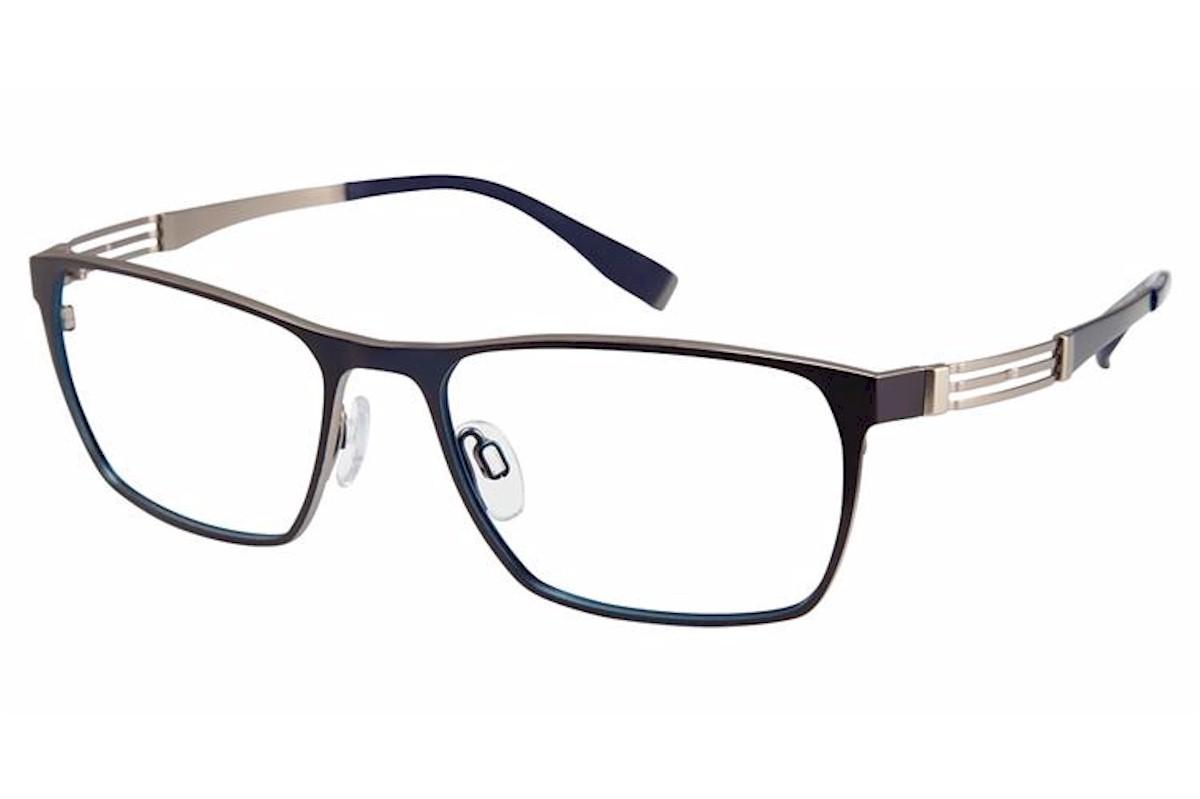 Charmant Perfect Comfort Eyeglasses Ti 12302 Titanium Full Rim Optical Frame