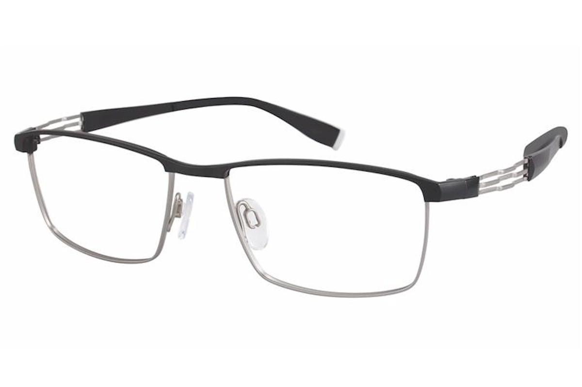 Charmant Perfect Comfort Eyeglasses Ti 12306 Titanium Half Rim Optical Frame