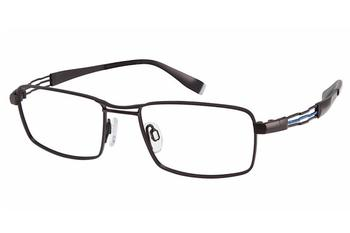 Charmant Perfect Comfort Eyeglasses TI/12307 Titanium Full Rim Optical Frame UPC:
