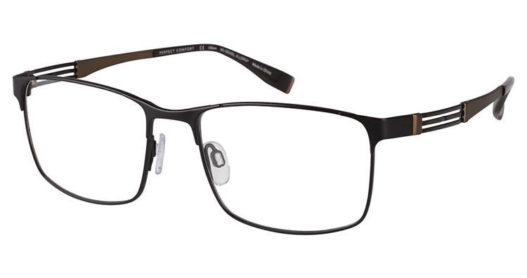 Charmant Perfect Comfort Eyeglasses Ti 12309x Titanium Full Rim Optical Frame