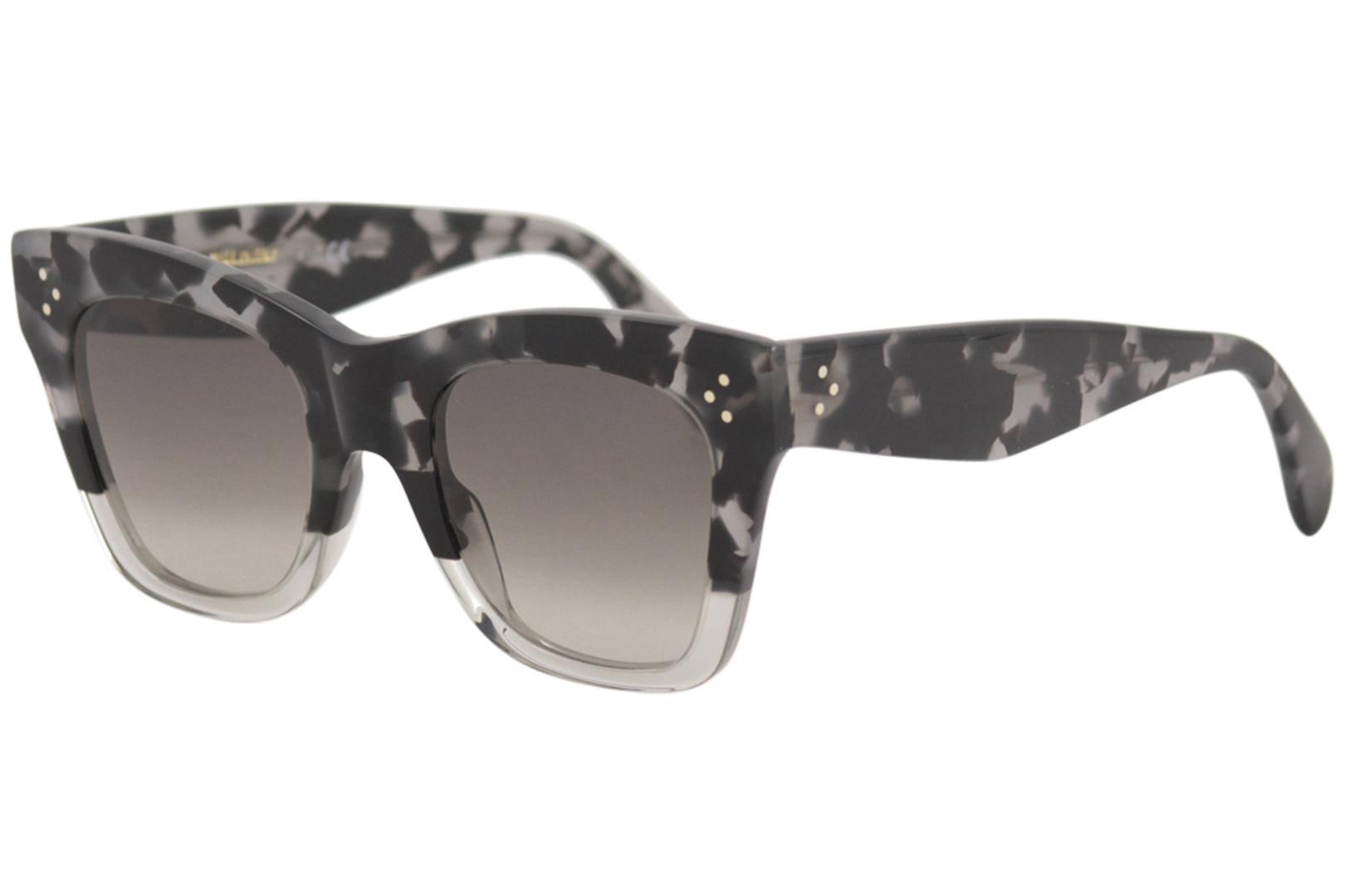 2e13e37d4396 Celine Women s CL40004L CL 40004 L Fashion Square Sunglasses