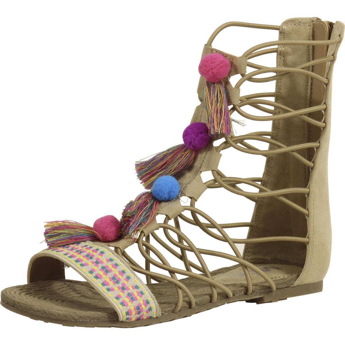 a2f08cdc202 Mia Kids Little Big Girl s Jordy Gladiator Sandals Shoes