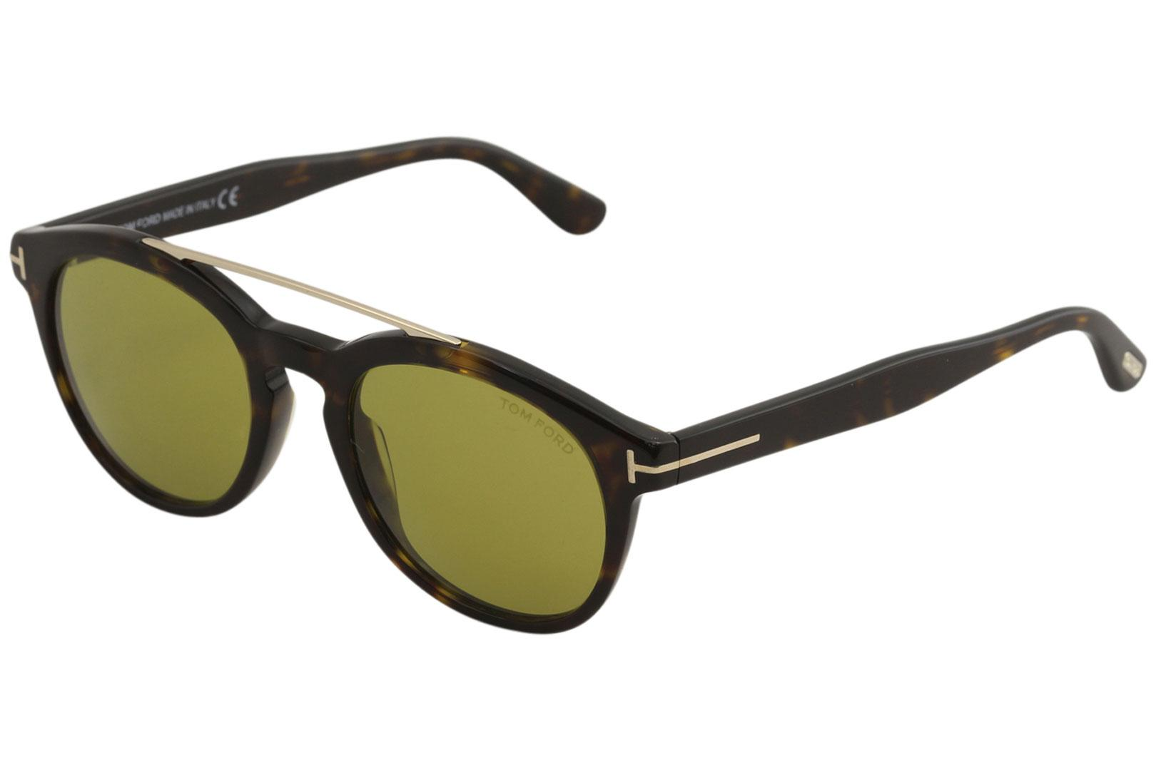 70cb20c077bfb Tom Ford Men s Newman TF515 TF 515 Fashion Round Sunglasses