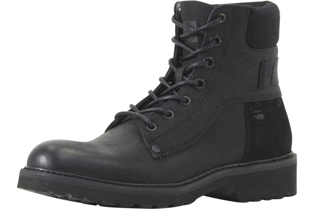 Image of G Star Raw Men's Carbur Boots Shoes - Black - 8 D(M) US