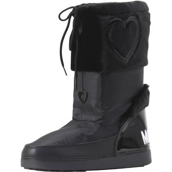 Love Moschino Women's Heart Winter Snow Boots Shoes