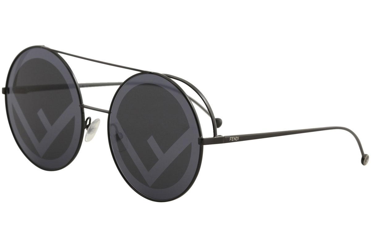 Fendi Women's FF0285/S FF/0285/S Fashion Round Sunglasses