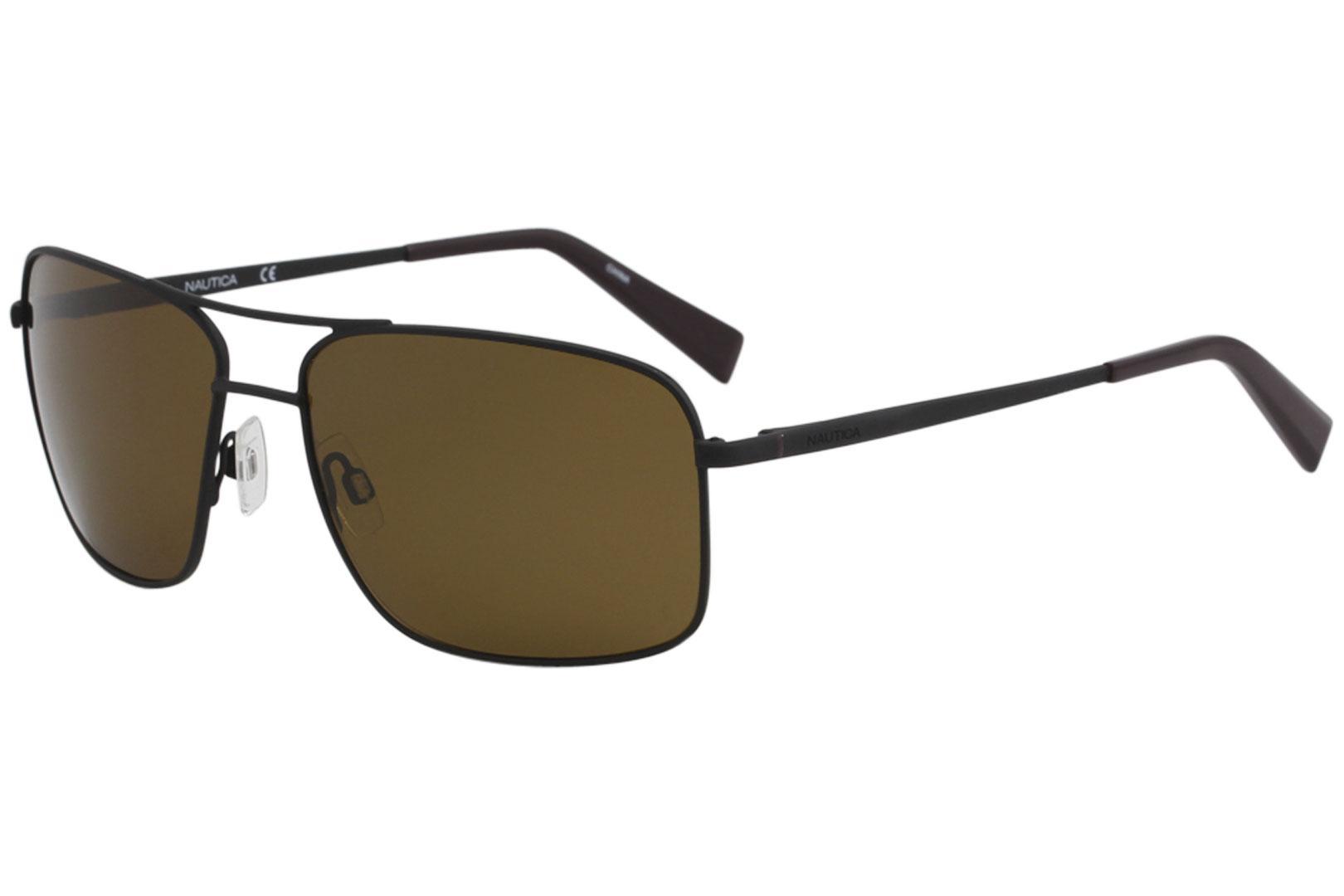 174588f7e3566 Nautica Men s N5115S N 5115 S Fashion Pilot Polarized Sunglasses by Nautica